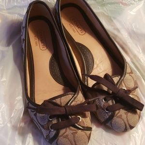 COACH Jose loafers size 7.5.